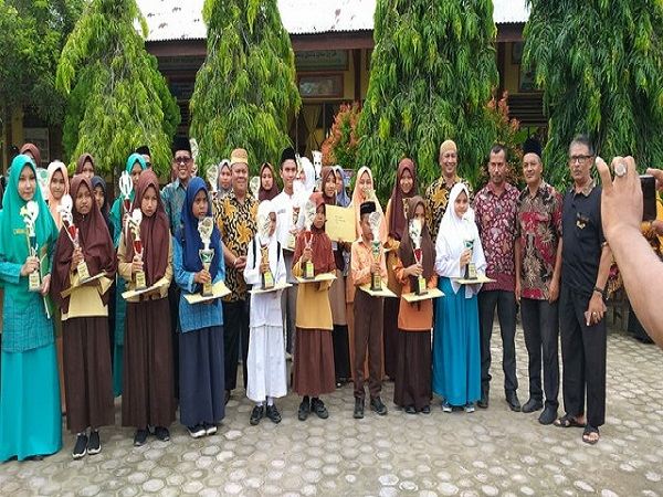 Dua Siswa MAN 4 Aceh Utara Raih Juara 1 KSM Tingkat Kabupaten Aceh Utara