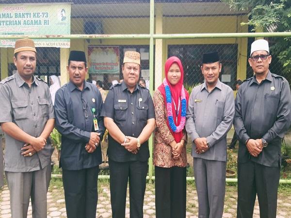 Penyambutan Intan Ananda, Peraih Perak KSM Nasional di Manado