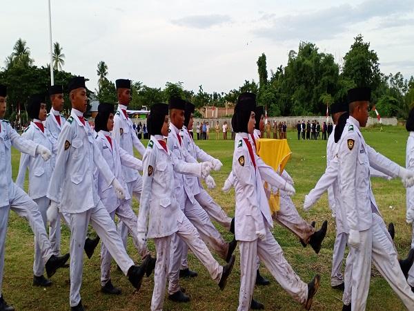 Paskibra MAN 4 Aceh Utara