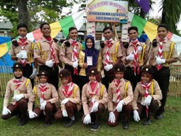 Pramuka MAN 4 Aceh Utara Raih Juara Umum