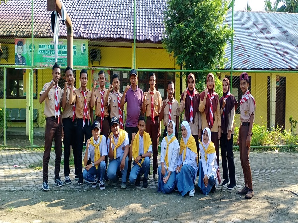 Pramuka, PMR dan UKS MAN 4 Aceh Utara